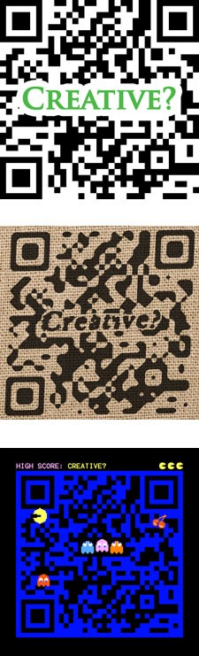 QR Codes - A Creative Dimension?